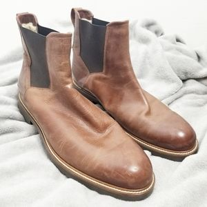 Other - Ross & Snow Italian leather boots brown 13